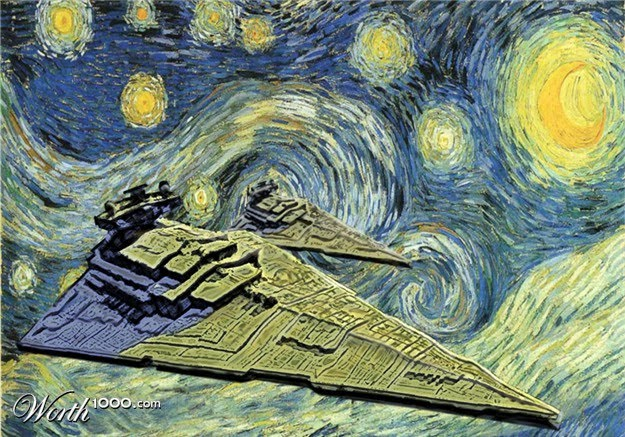 9 Geeky Variations Of A Starry Night By Van Gogh Epic