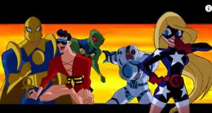 Justice League Action Clips