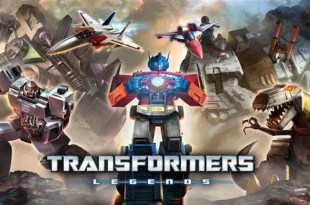Transformers Video Game Art