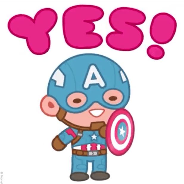 Marvel Sticker Hero Mix