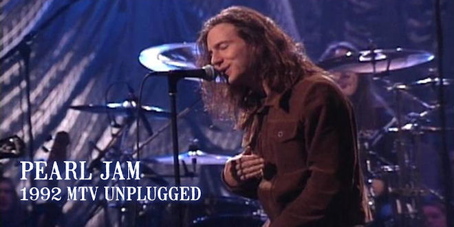 Unplugged Pearl Jam MTV - Acoustic Session Concert
