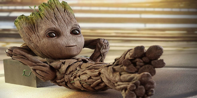 Hot Toys Guardians of the Galaxy Vol 2 - Life Size Baby Groot Action Figure