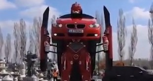 real life transformer
