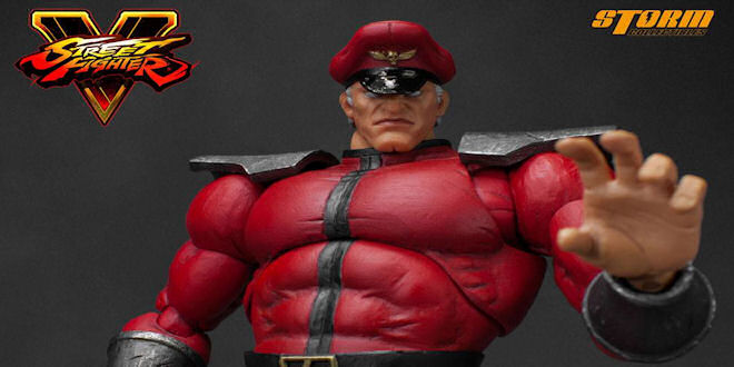Street Fighter V Characters 1/12 M. Bison Action Figure by Storm Collectibles