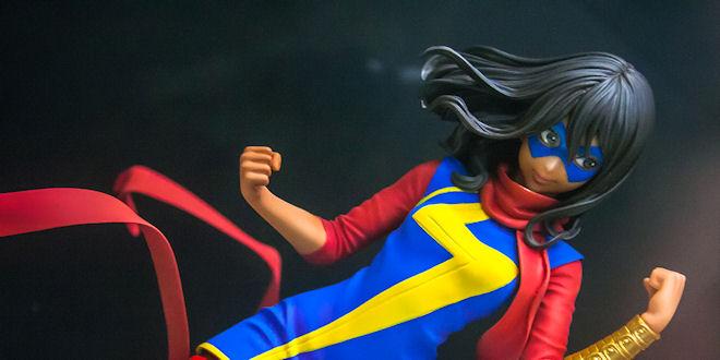 Marvel Bishoujo Ms Marvel - Kamala Khan 1/7 PVC Statue