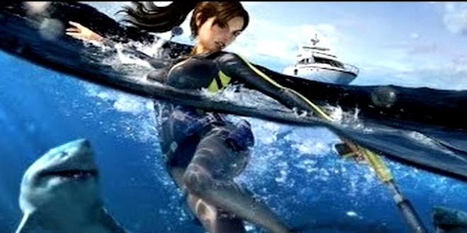 New Tomb Raider Movie  : The Devil's Sea - Full Film 1Hr HD