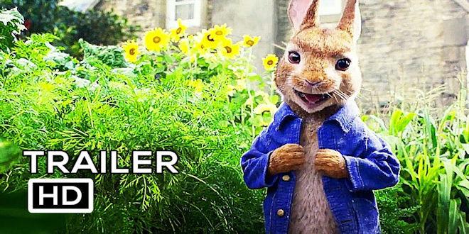 Peter Rabbit Animated Movie Trailer Margot Robbie, Daisy Ridley