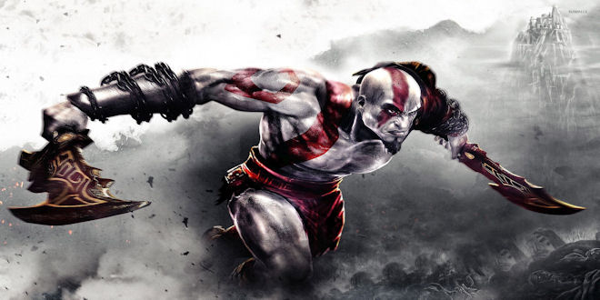 God of War Animated Movie : Footage from the Video Game