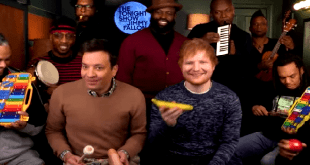 jimmy fallon ed sheeran roots