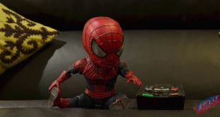 Spider-man Stop Motion Video