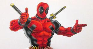 Draw Marvel Deadpool