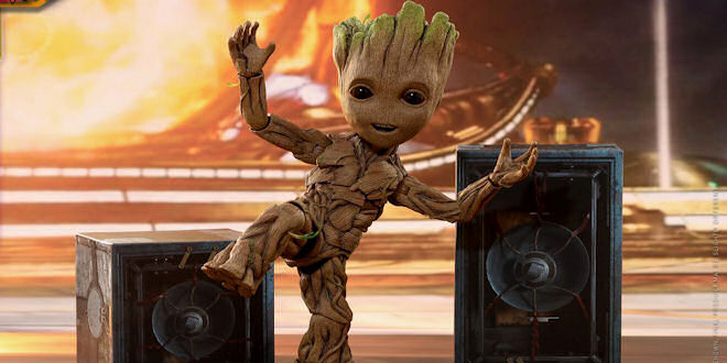 Groot Dance Music Video - Marvel Guardian's of Galaxy 2 - Travis Scott Remix