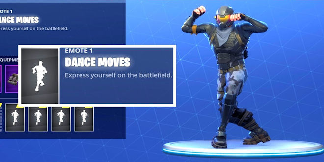 fortnite dances