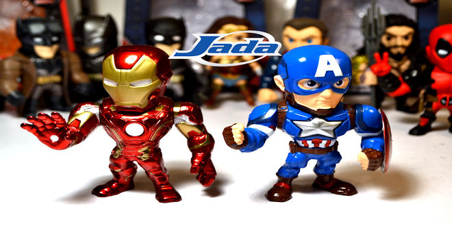 Jada Toys - Marvel Diecast Mini Figure Range - Epic Heroes - New Toy News