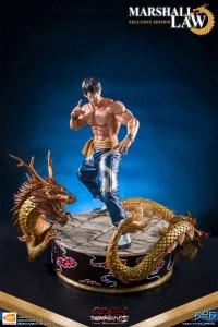 Tekken Statues