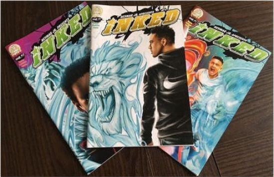 Neymar Jr Comic Book