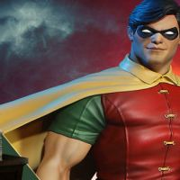 DC Comics Super Powers Collection Robin Maquette by Tweeterhead