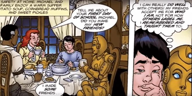 Comic Book Hero with Autism