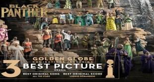 three Golden Globe Awards