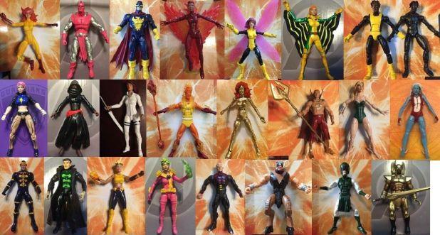 marvel legends customs