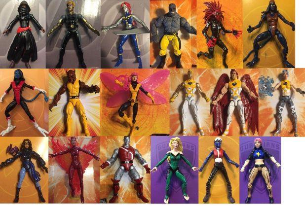 even more custom marvel legends