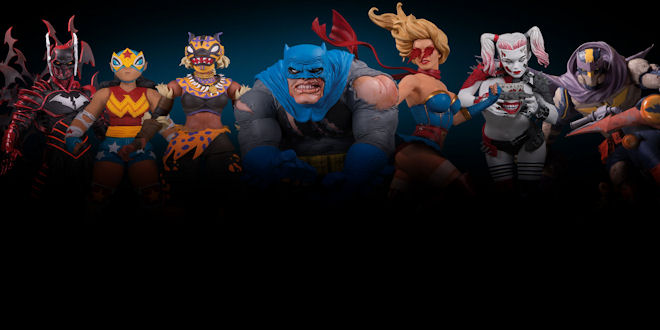 Toy Fair 2019 - DC Collectibles - Reveals