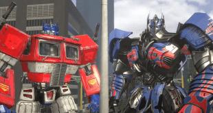 Movie Optimus Prime vs G1 Optimus Prime