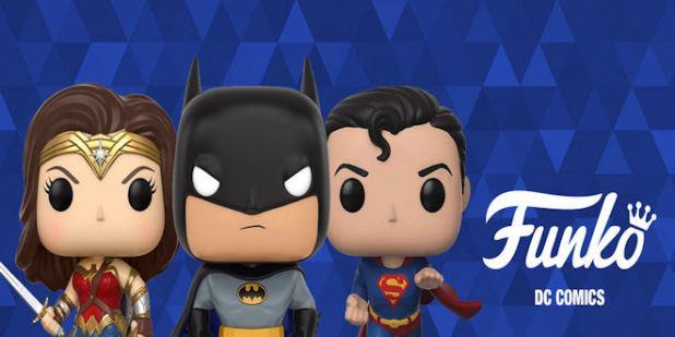 Funko Pop DC Comics - 50 x Action Figures Range 19/2020 - epicheroes Presale List
