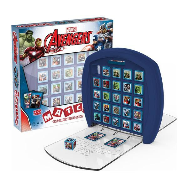 Avengers TOP TRUMPS MATCH BOARD GAME