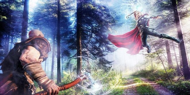 Kratos vs Thor Part 2 (God Of War vs. God Of Thunder) - SNEAK PEEK