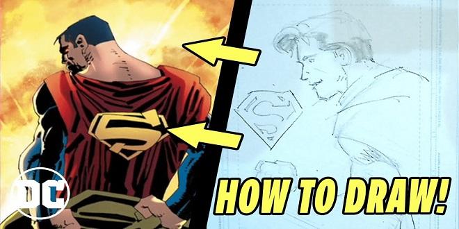 DC Comics - How to Draw Superman w/ Frank Miller & John Romita Jr