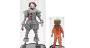 Action Figure Cylindrical Display Case