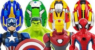 Avengers, Carbot Kung Go~! Iron Man, Hulk, Spider-Man, Thor, Captain America, Thanos, Incredibles