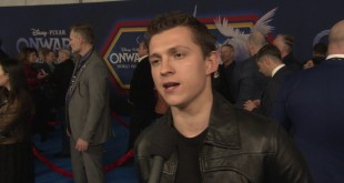 Disney Pixar Onward Animated Movie - World Premiere Celebrity Interview w/ Tom Holland