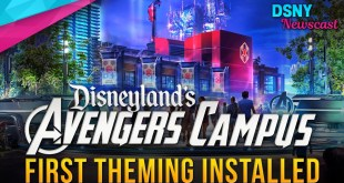 MARVEL LAND Theming Begins at Disney California Adventure - Disney News - 1/21/20