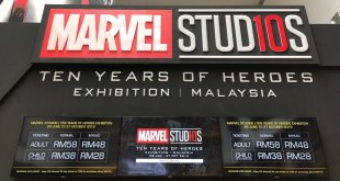 Marvel Studios: 10 Years of Heroes Exhibition @ Pavilion, KL