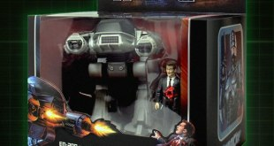 """Robocop 3.75"""" Scale ED-209 And Mr. Kinney ReAction Figure Set From Super7"""