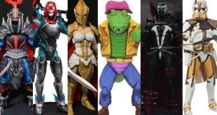 Spawn, TMNT, Fortnite, My Hero Academia, Star Wars, Mythic Legions, Marvel, More!  