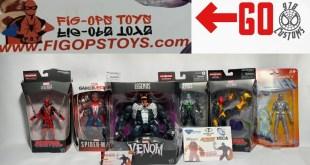 The GREATEST Marvel Legends P.O. BOX pick up VENOM,SPIDER-MAN,DEADPOOL