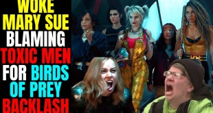 Woke Mary Sue Already Blaming Toxic Men For Birds Of Prey Backlash