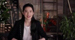 Disney Pictures Mulan 2020 Movie - Celebrity News Interview w/ Yifei Liu Mulan