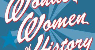 #IWD2020: LAURIE HALSE ANDERSON LASSOS REAL STORIES OF REAL HEROES IN WONDER WOMEN IN HISTORY