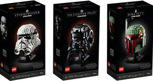 LEGO unveils sleek new packaging for adult-targeted builds, including its new Star Wars Buildable Model Helmets – ToyNews