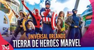 La tierra de Marvel en Universal Studios Orlando | Disney Geeks