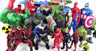MARVEL AVENGERS TITAN HERO SERIES GO! HULK, THOR, IRON MAN, SPIDER MAN, CAPTAIN AMERICA-Charles Toy