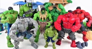 MARVEL HULK SMASH COLLECTION! GO! Avengers Thor Thunder and Lightning Makes Hulk Bigger!-Charles toy