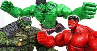 Monster appeared in egg that fell from space! Go! Marvel Hulk, Red Hulk! - DuDuPopTOY