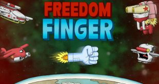Side-Scrolling Cartoon Shoot 'em Up Freedom Finger Arrives Tomorrow on PS4 – PlayStation.Blog