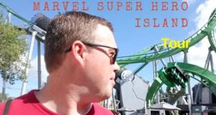 Tour of Marvel Super Hero Island