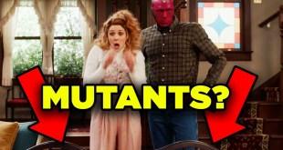 WANDAVISION Trailer Explained! X-Men in Marvel Phase 4?   RT